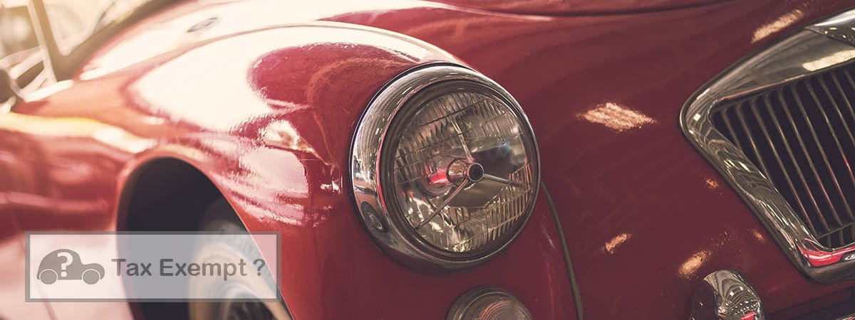 Check If Your Car Is Tax Exempt