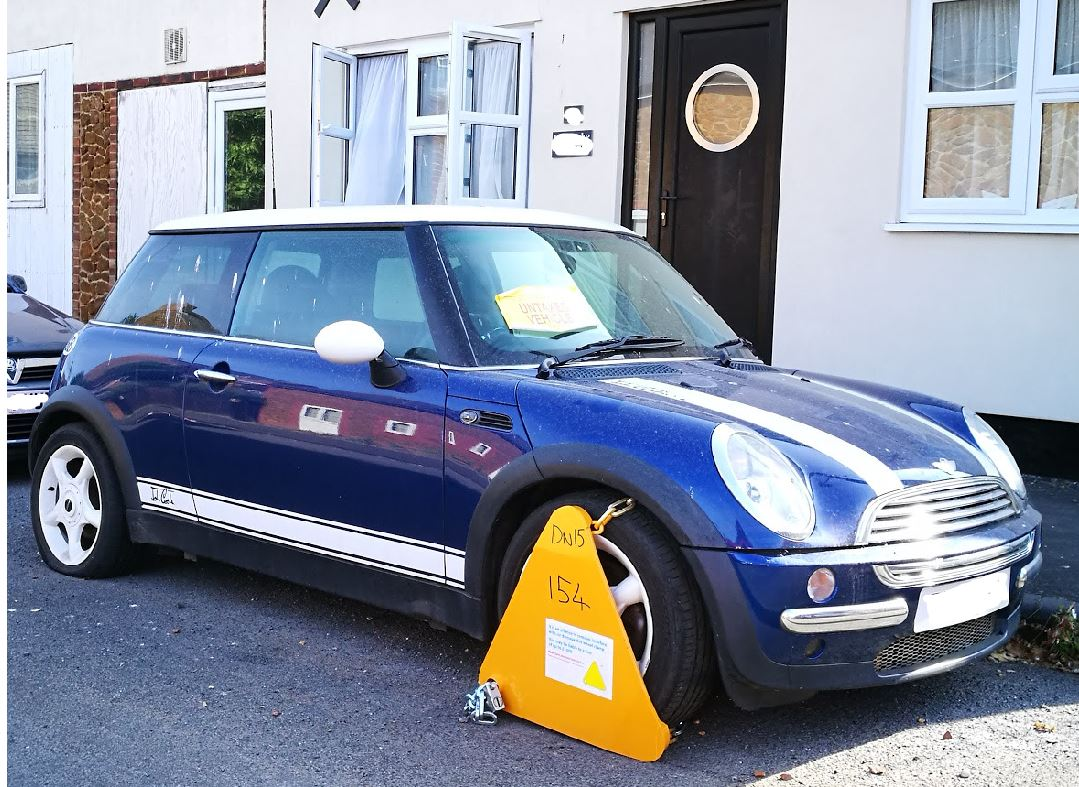 How to ask the DVLA to remove your wheel clamp