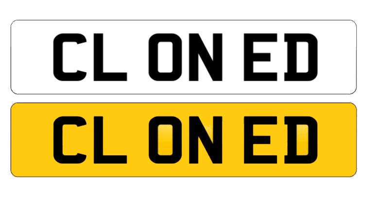 Cloned Registration Plates